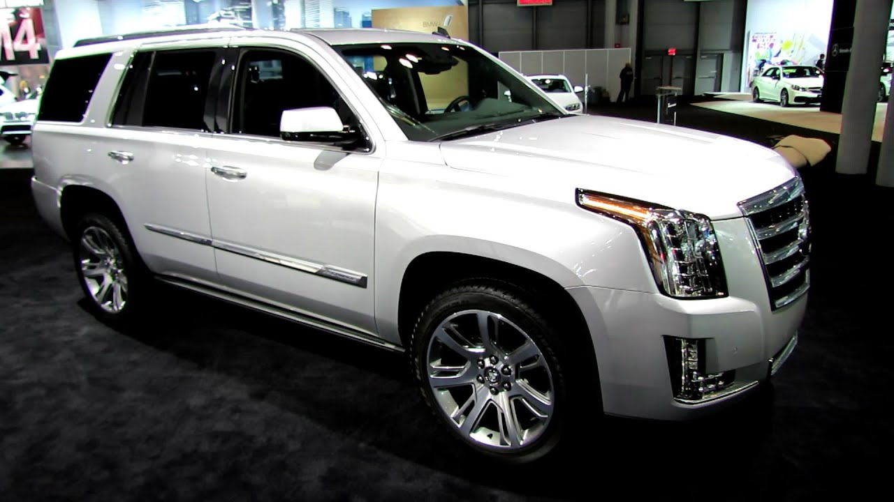 2016 Cadillac Escalade Interior >> 2015 Cadillac Escalade 4WD Premium - Exterior and Interior ...
