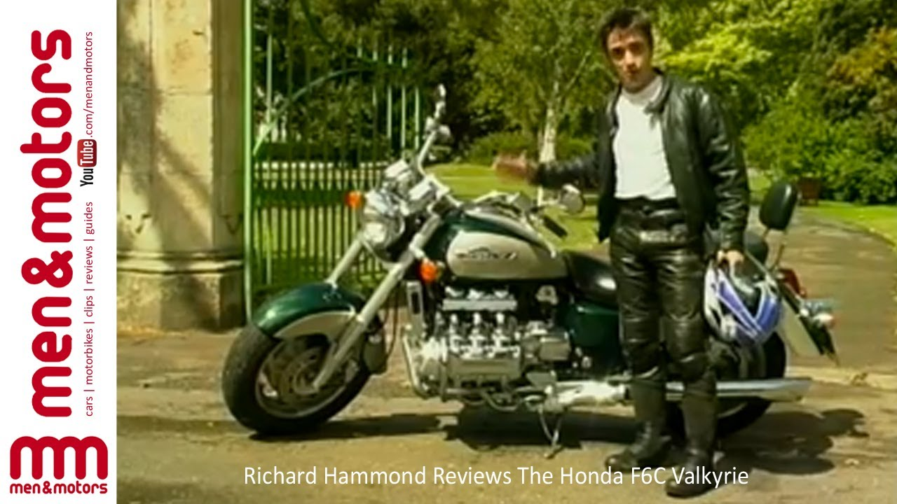 The Honda F6C Valkyrie Review - With Richard Hammond - YouTube