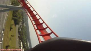 The Intimidator at Carowinds Hyper Coaster POV Carolina