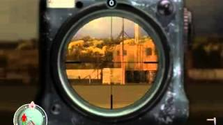 Sniper elite 1km tam kafadan
