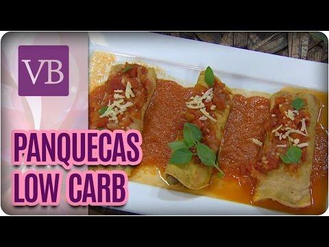Panquecas Low Carb - Você Bonita (24/10/16)