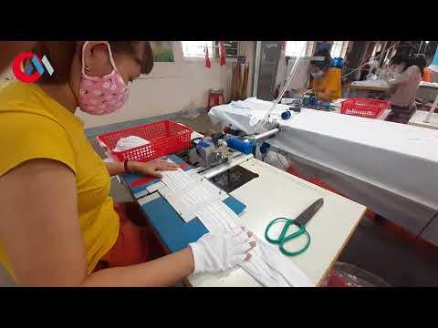 Công nghệ may$#KHAU TRANG VAI#NEW fabric masks#أقنعة قماش جديدة