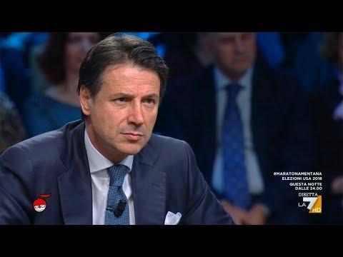 Giuseppe Conte ospite a DiMartedi 06-11-2018