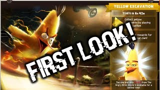 Yellow Excavation Event First Look!   Angry Birds Evolution