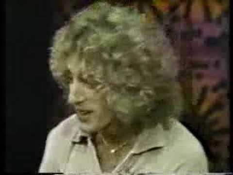Roger Daltrey interview 1975 pt 1