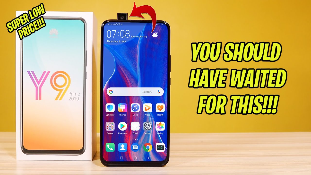 Huawei Y9 Prime 2019 Unboxing and Review - THIS PHONE HAS GOOGLE!