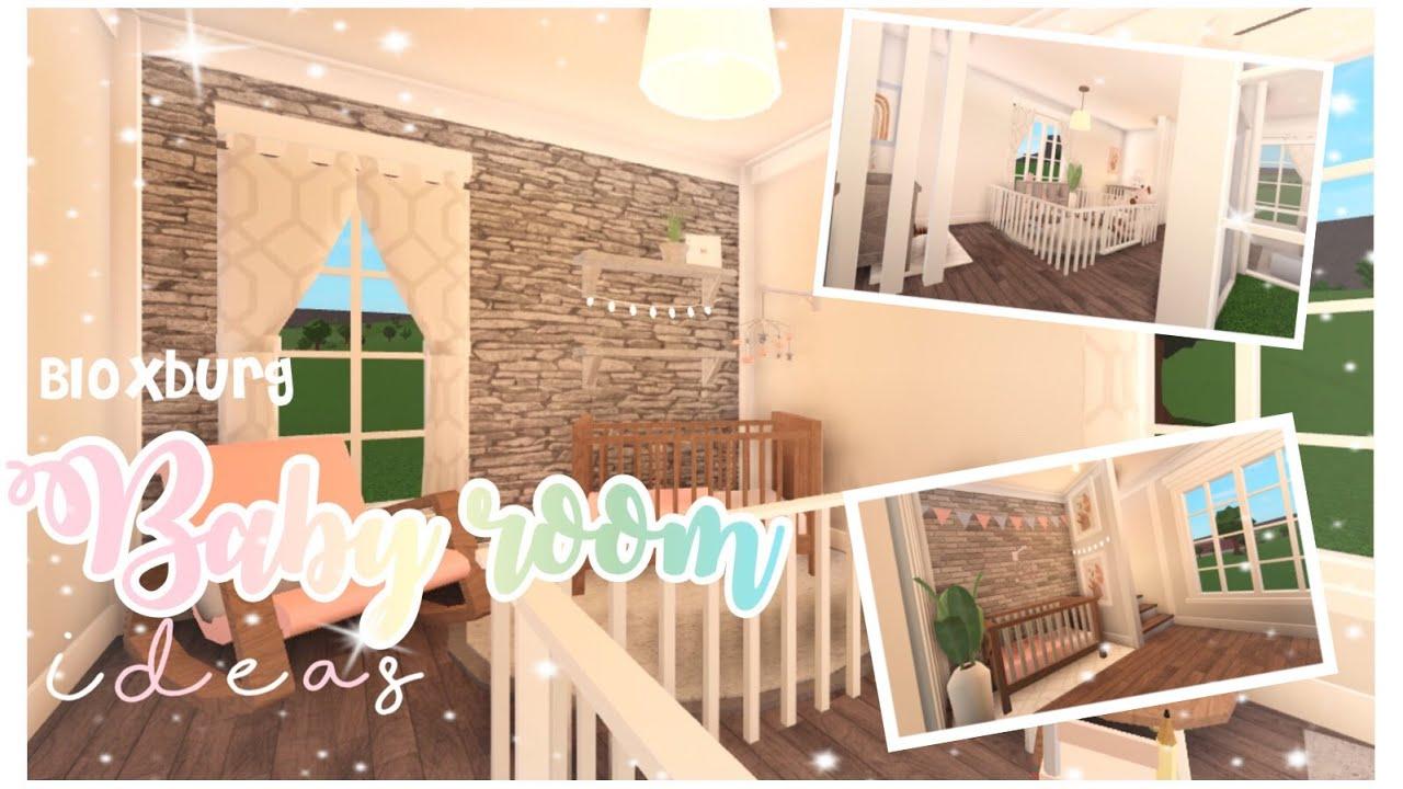 Aesthetic Baby Room Ideas Bloxburg || New update 0.90 ...