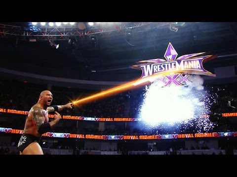 WWE Superstars and Lasers!