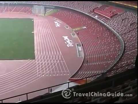 Bird's Nest (National Stadium) and Water Cube (National Aquatics Center), Beijing China