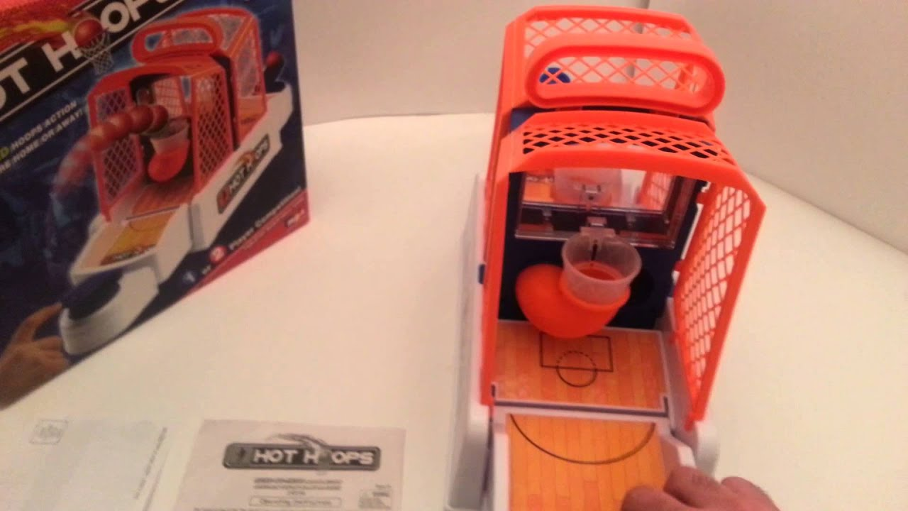 Hot Hoops Tabletop Basketball Game Ebay Showcase