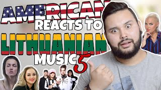 American REACTS // Lithuanian Music 5