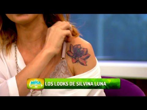 Silvina Luna Se Bajo La Camisa Para Mostrar Un Tatuaje Youtube