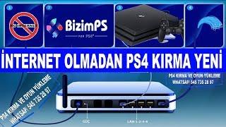 PS4 KIRMA İŞLEMİ  İNTERNETSİZ 5.05 / OFFLİNE BAĞLANTI OLMADAN YENİ  !!!