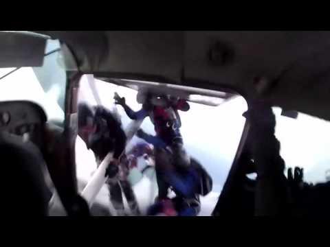 Go Pro Skydiving Plane Crash