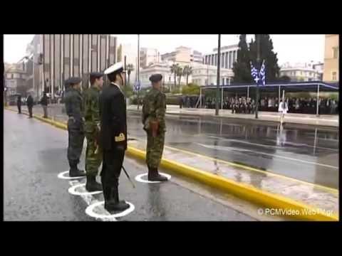 25/ΜΑΡΤΙΟΥ/2015 Η στρατιωτική παρέλαση στην Αθήνα πλατεία Συντάγματος