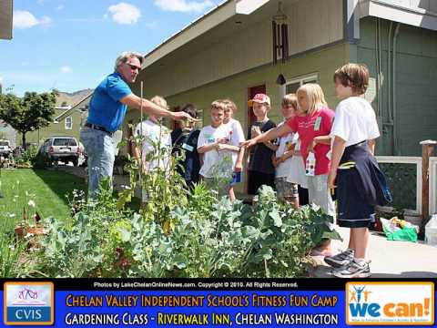 Chelan Valley Independent School's Summer Camp at Lake Chelan