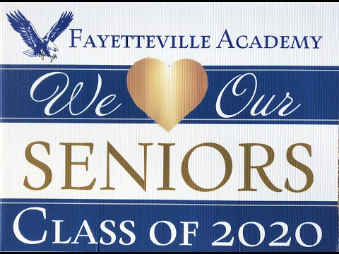 Fayetteville Academy Class of 2020 - How Far They've Come!