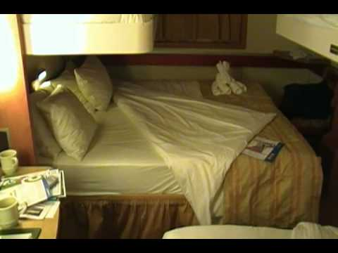 Carnival Inspiration Inside Cabin Bunk Layout Youtube