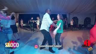 Oseyemen Edeko and Evgeniya Tuchkova Salsa Dancing in Malibu at The Third Front, Sat 04.08.2018 (SC)