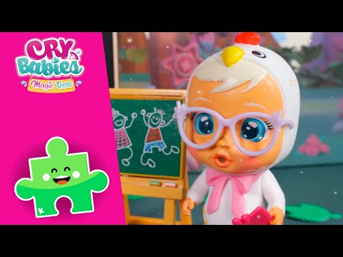 zurück-in-die-schule-📗✏️-cry-babies-💧-magic-tears-💕-toy-play