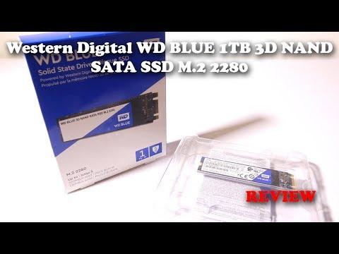 Western Digital WD BLUE 3D NAND 1TB SATA M.2 2280 REVIEW