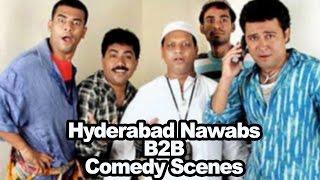 Hyderabad Nawabs Back 2 Back Comedy Scenes - Aziz Nasar, Roller Raghu,Masti Ali