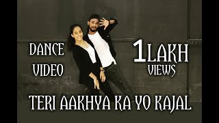 Teri Aakhya Ka Yo Kajal | Sapna Choudhary | Dance Video | Choreography by | Hopper's Squad