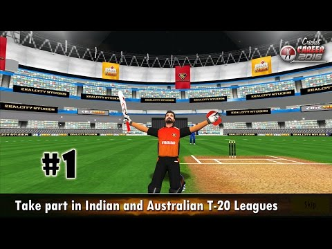Cricket Career 2016 (by Zealcity) Android Gameplay #1 [HD]