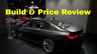 2019 BMW M760i xDrive Individual - Build & Price Review - Downloadable Build