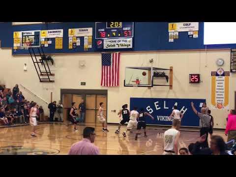 Elijah Pepper (c/o 2019) highlights Jan 2018 Selah High School #40