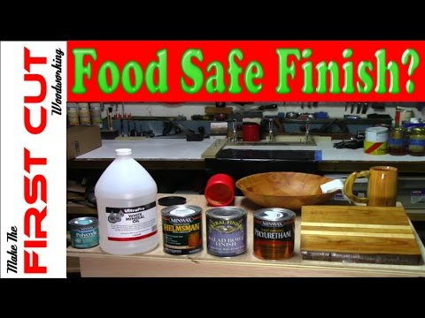 Minwax Polyurethane Food Safe
