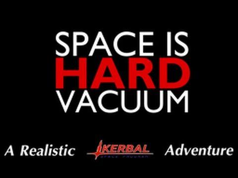 KSP - Space is Hard (Vacuum) - Episode 2 - Intercontinental Ballistic Dessert
