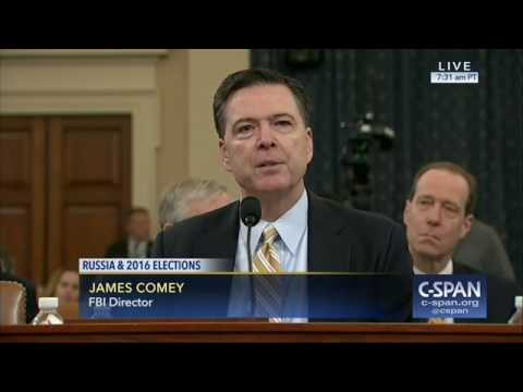FBI Director Confirms That FBI Is Investigating Links Between Trump's Campaign And Russia