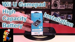 Wii U Gamepad High Capacity Battery Installation | Nintendo Collecting