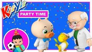Old MacDonald Had a Farm | KiiYii | Little Baby Boogie | Nursery Rhymes For Babies thumbnail