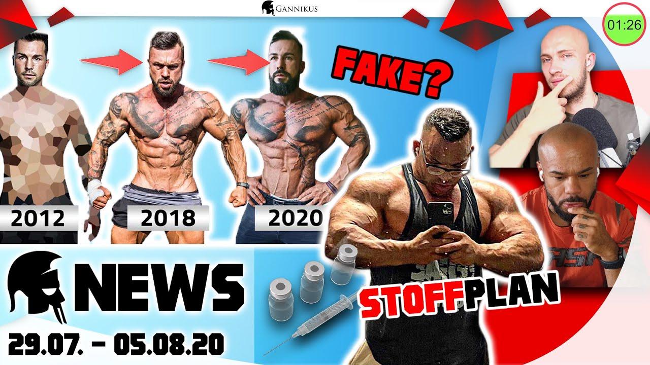 Erdem Düls krasser Steroid-Stack! Jil mit Fake-Transformation?
