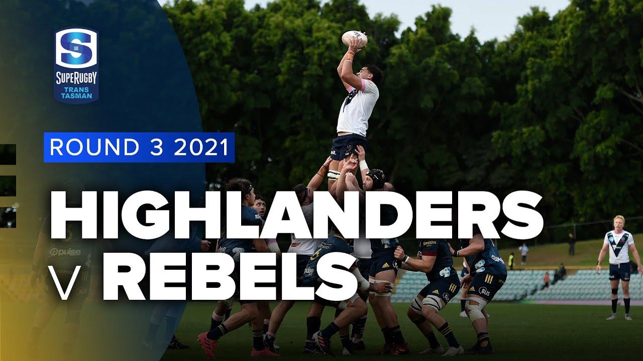 Download Super Rugby Trans Tasman | Highlanders v Rebels - Rd 3 Highlights