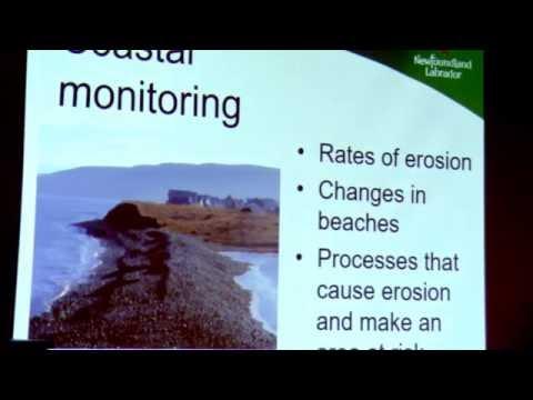 Irvine, Melanie - Coastal Activities of the NL Geological Survey