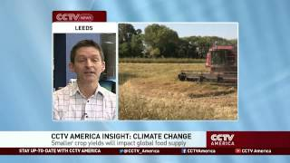 Climate Change Could Soon Affect Food Supply