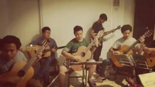 SMM Guitar Ensemble - The Call of Ktulu (Metallica Cover). SMK Musik Perguruan Cikini