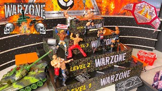 WARZONE WWE ACTION FIGURE MATCH! HARDCORE CHAMPIONSHIP!