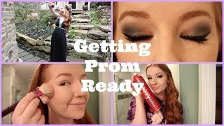Getting Prom Ready: Makeup, Hair, + Outfit Thumbnail