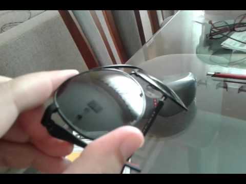 lente polarizada ray ban descascando