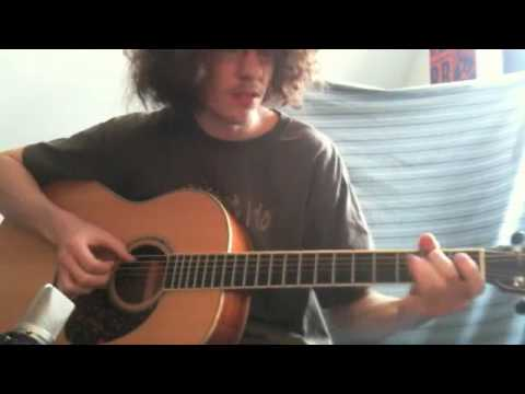 After the Clouds   orignal song on acoustic guitar
