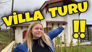 Tatil Vlog 2   VİLLA TURU !!  DAĞ EVİNDE KIŞ TATİLİMİZ