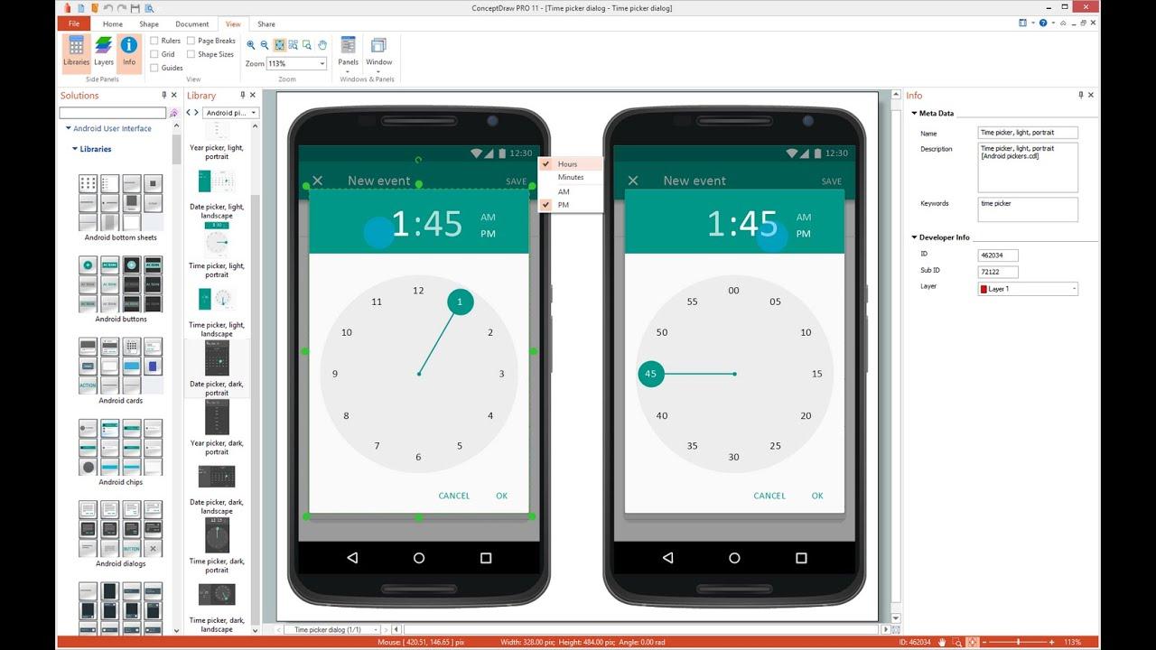 User Interface Mockup Desktop Wiring Schematic