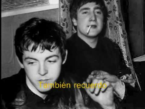 The Beatles - I Remember You (Subtitulos en Español)