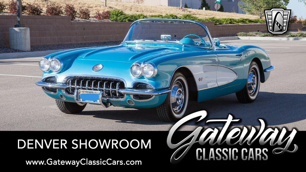 Classic Cars Denver >> 1959 Chevrolet Corvette Gateway Classic Cars Denver 661