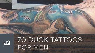 70 Duck Tattoos For Men