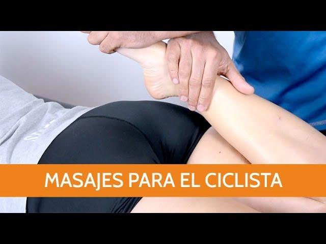Masajes para el ciclista